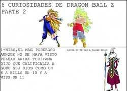 Enlace a 6 Curiosidades de Dragon Ball Z Parte 2