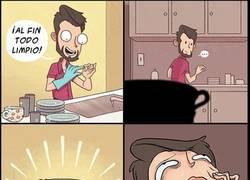 Enlace a Lo peor que te puede pasar después de fregar los platos