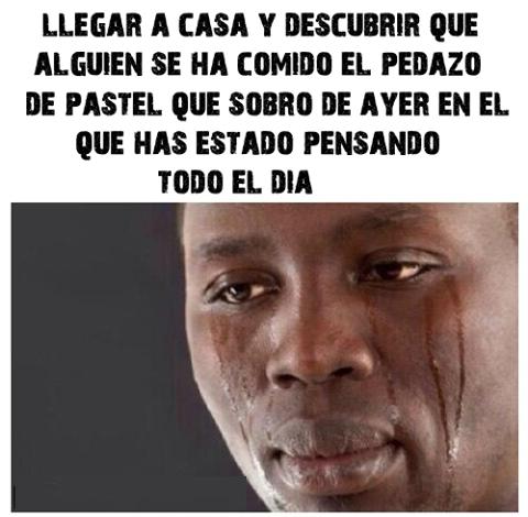 Meme_otros - La tristeza máxima al llegar a casa