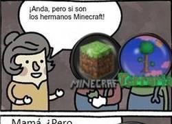 Enlace a Los hermanos Minecraft