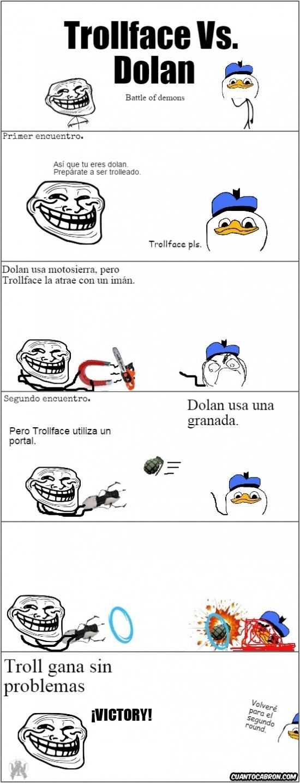 Trollface - La batalla de Trollface vs. Dolan