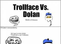 Enlace a La batalla de Trollface vs. Dolan