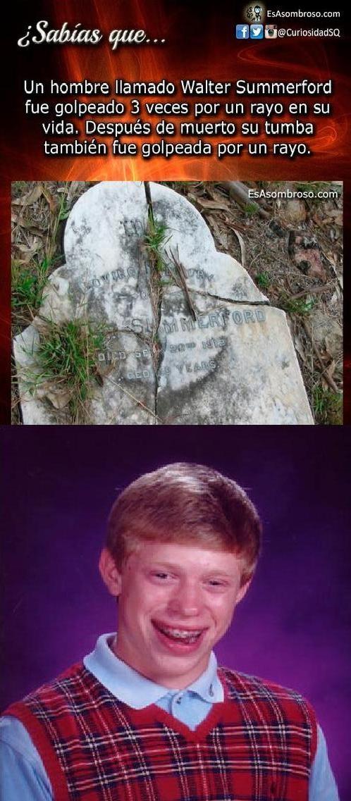 Meme_otros - Ni muerto se le acaba la mala suerte