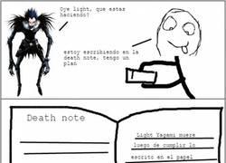 Enlace a Si el protagonista de Death Note hubiera pensado en esto...