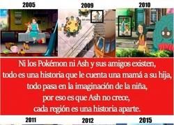 Enlace a Pokémon es mentira