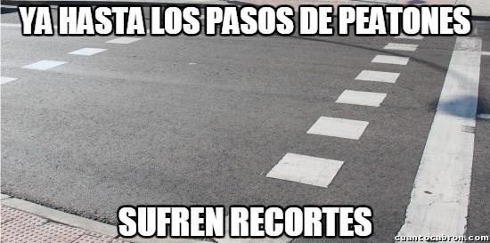 Meme_otros - ¿Pero qué está pasando con los pasos de peatones?