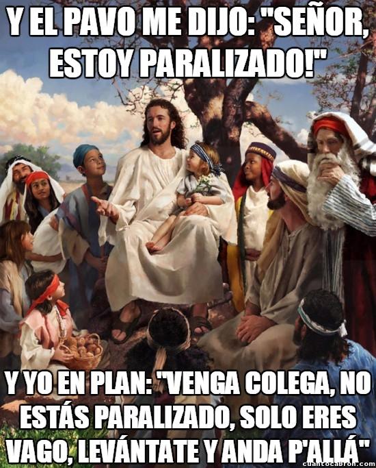 Meme_otros - Así se entiende mucho mejor la historia de Jesucristo