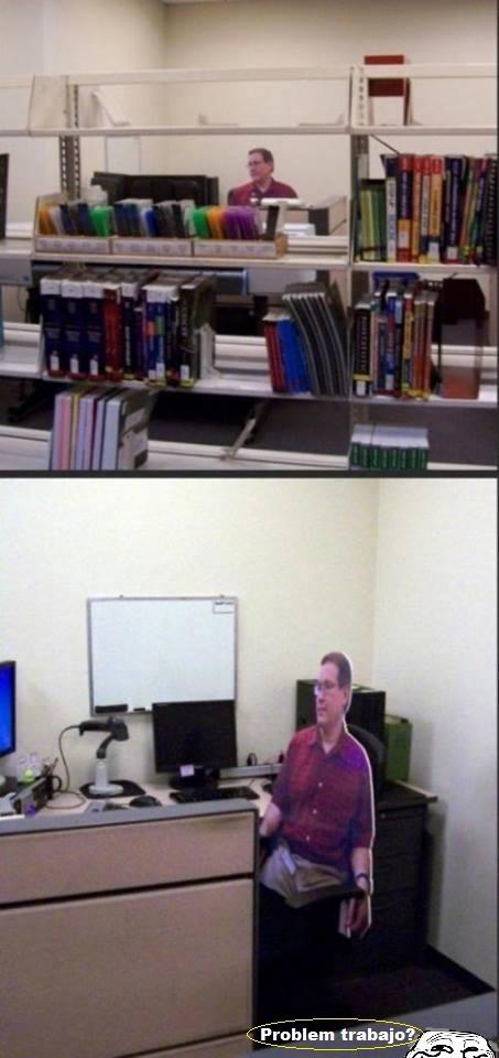 biblioteca,bibliotecario,el mejor,muy jefe,trabajador,troll