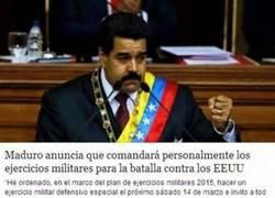 Enlace a Maduro, el gran salvador de la humanidad