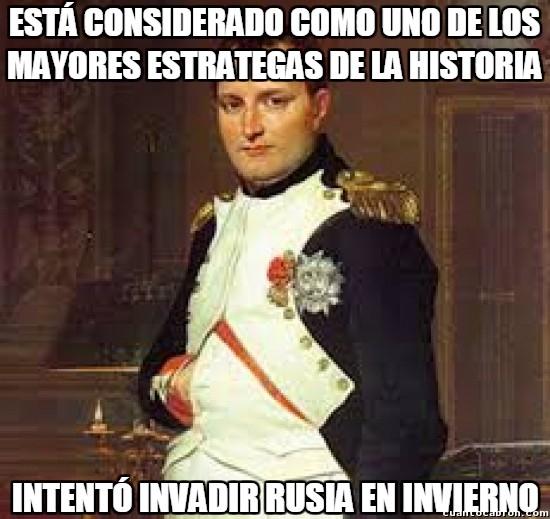 Meme_otros - Napoleón, el gran estratega