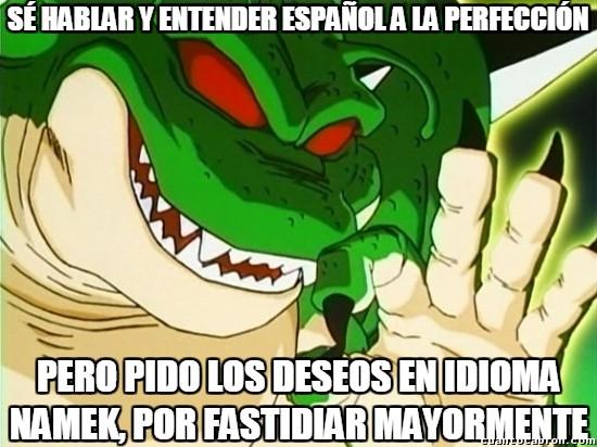 Meme_otros - Porunga, el dragón exquisito