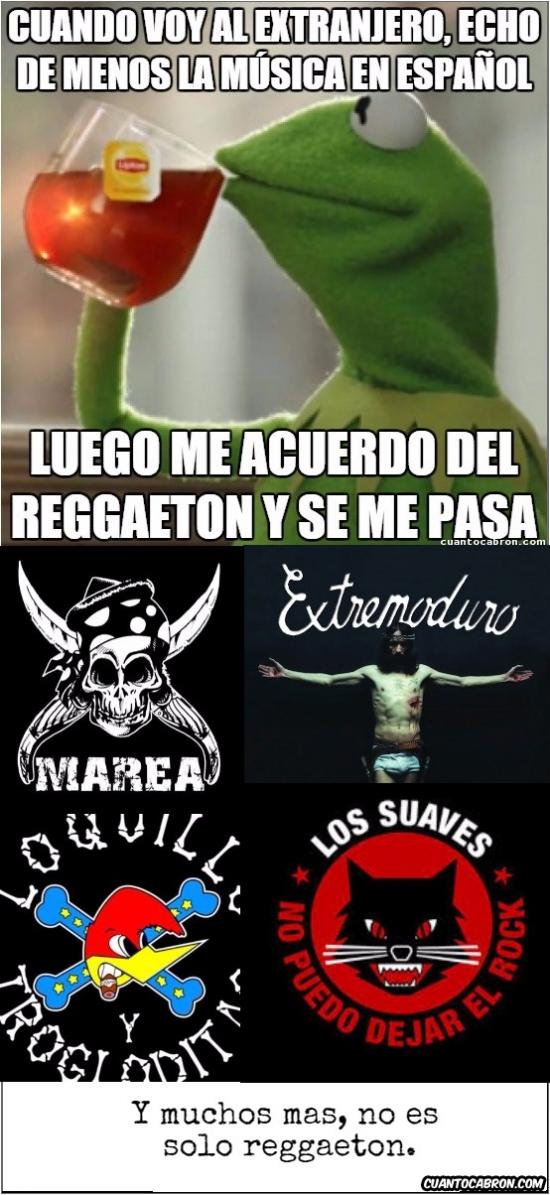 Meme_otros - Música en español, un mundo más allá del reggaeton