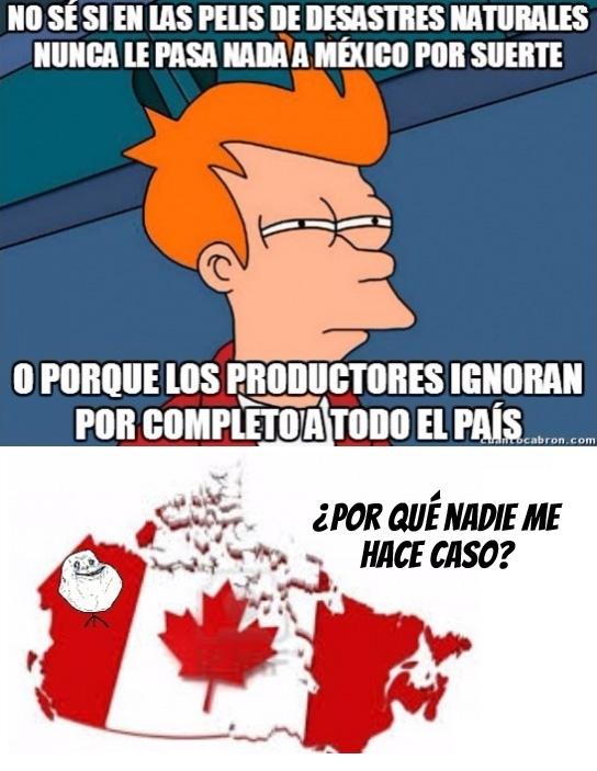 Meme_otros - Siempre desprecian a Canadá