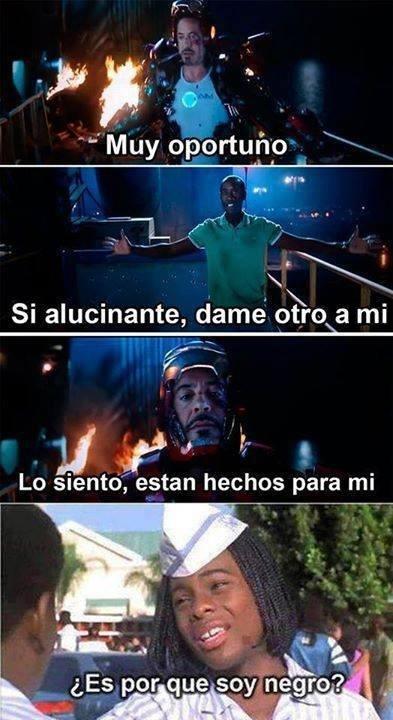 Meme_otros - Tony Stark es un tío egoísta o...