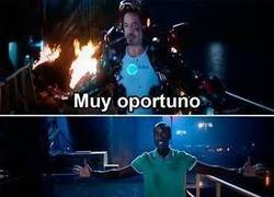 Enlace a Tony Stark es un tío egoísta o...