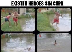 Enlace a Los verdaderos héroes
