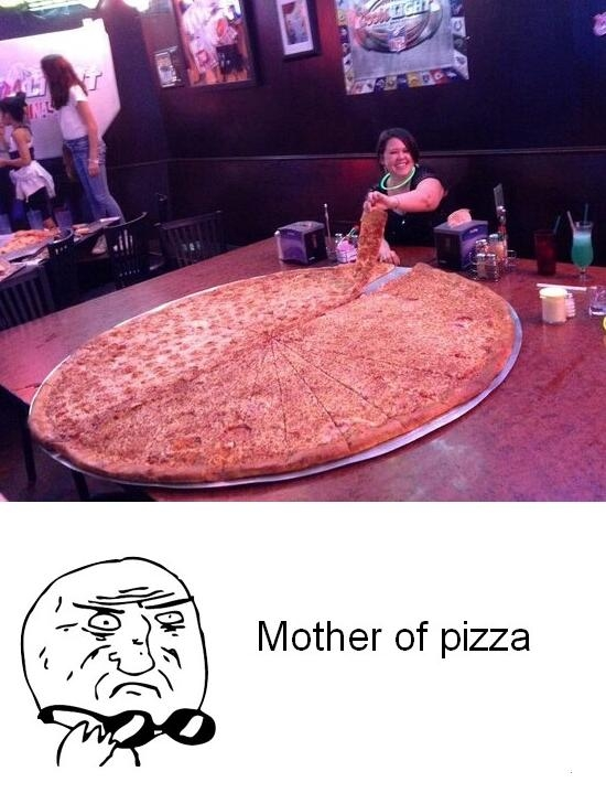 Mother_of_god - La pizza más grande que he visto en mi vida