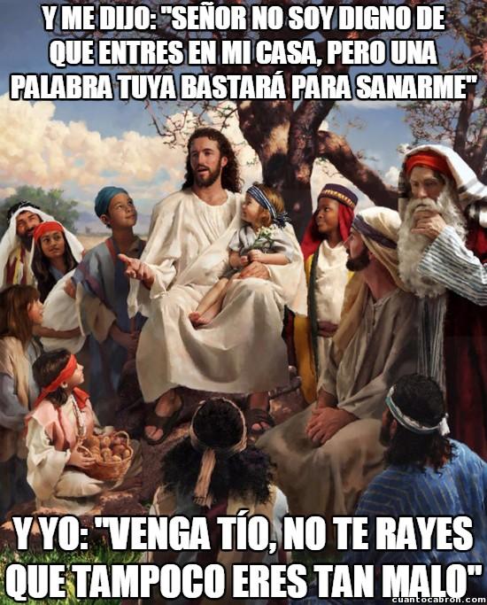 biblia,canturión,frase famosa,Jesucristo,Jesús,rayar,sanar,storytime Jesus
