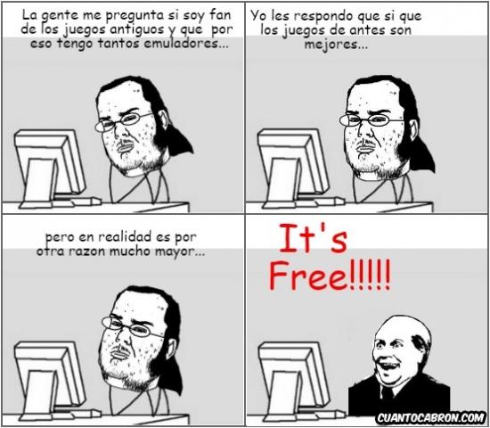 Its_free - No hay nada como un buen emulador de videojuegos antiguos