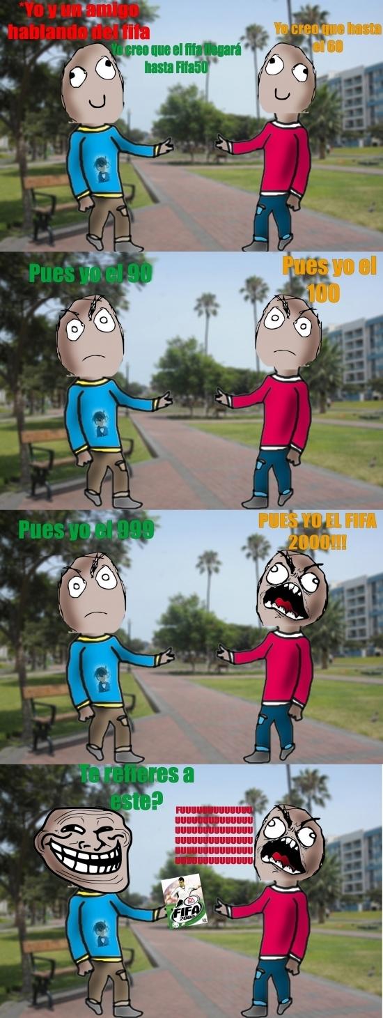 Trollface - Trolleando con las diferentes versiones del FIFA