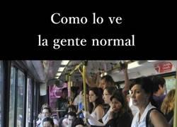 Enlace a Cuando tienes que viajar de pie en el transporte público