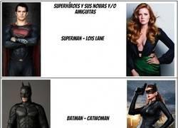 Enlace a La suerte de la mayoría de superhéroes con las mujeres