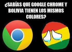 Enlace a La similitud entre Chrome y la bandera boliviana
