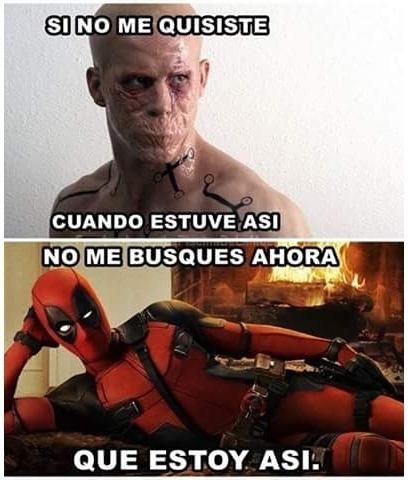 Meme_otros - No es tan fácil ser Deadpool