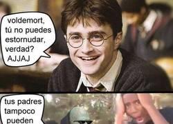 Enlace a No te rías de la nariz de Voldemort, te la devolverá