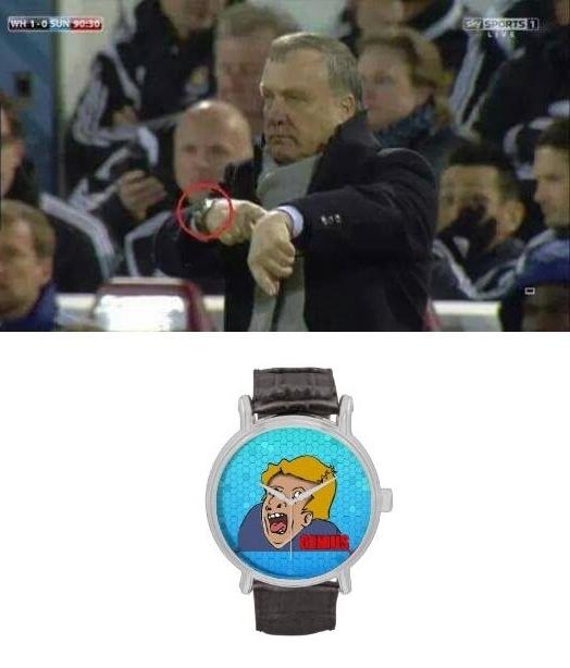 Otros - Entrenadores de fútbol que llevan reloj por postureo
