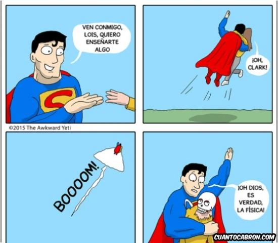Otros - No todo el mundo puede aguantar las mismas presiones que Superman