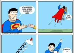 Enlace a No todo el mundo puede aguantar las mismas presiones que Superman