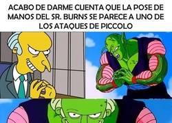 Enlace a ¿Quién iba a pensar que podía existir una relación entre el Sr. Burns y Piccolo?