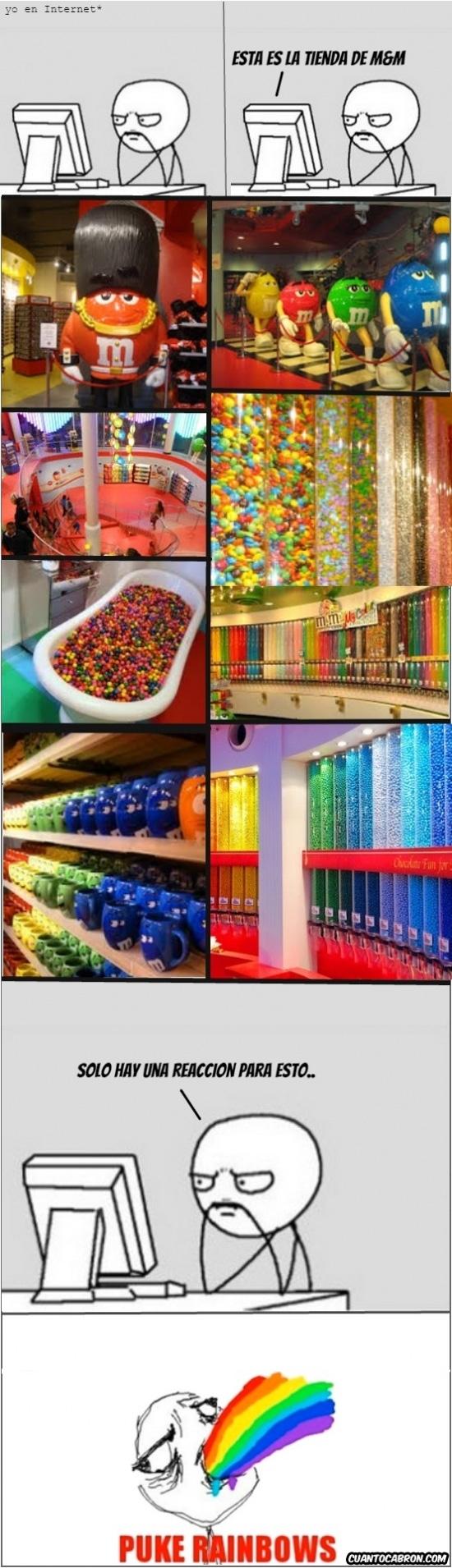 Puke_rainbows - Un mundo de color, demasiado color