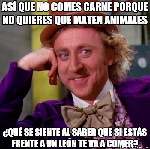 Wonka - No creo que los animales salvajes muestren tanta compasión