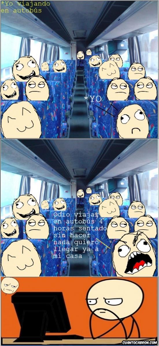 Kidding_me - Diferencias entre tu casa y el autobús
