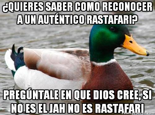 Pato_consejero - La religión rastafari no es solo rastas y sustancias alucinógena