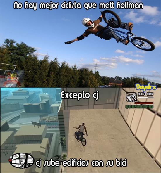 Meme_trollface - ¿Matt Hoffman ell mejor ciclista? No lo creo...