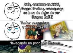 Enlace a Es hora de dejar de ver Dragon Ball