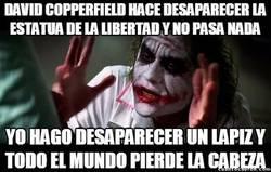 Enlace a David Copperfield y el Joker no son tan distintos