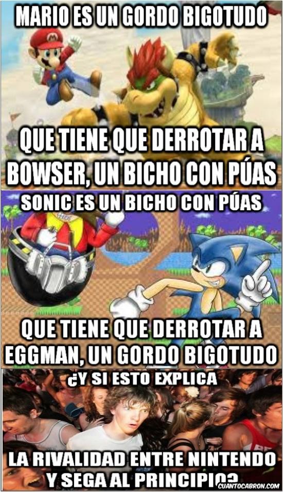 Momento_lucidez - La paradoja de Sega y Nintendo