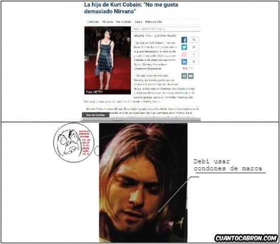 Ffffuuuuuuuuuu - Cría cuervos, Kurt Cobain...