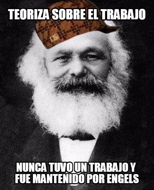 Scumbag_steve - Marx, el ni-ni histórico