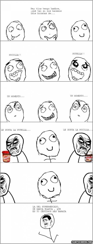 Infinito_desprecio - Cada uno tiene una crema de cacao favorita, pero no siempre depende de la marca