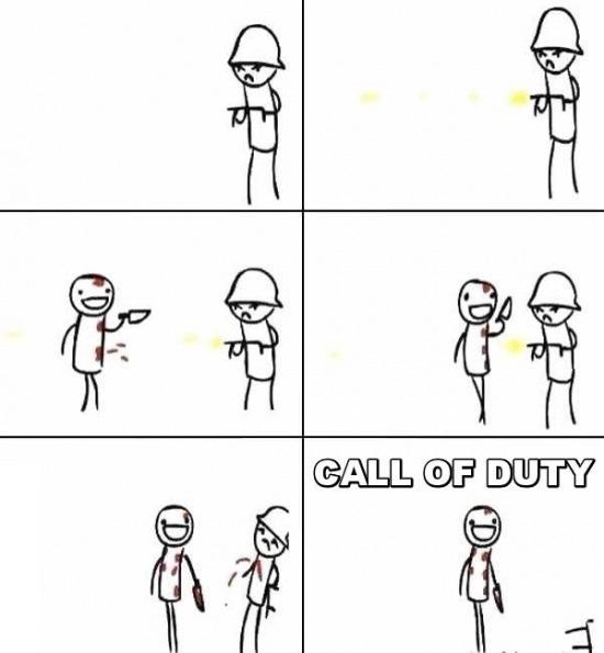 Otros - La lógica en Call of Duty