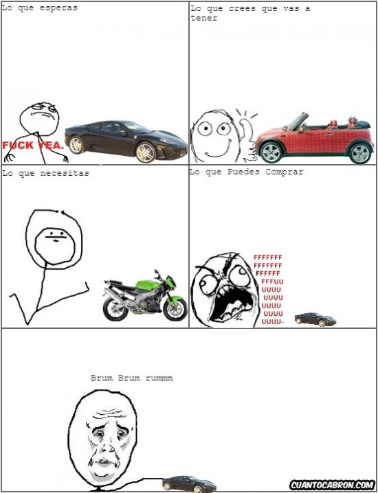 Ffffuuuuuuuuuu - Cuando quieres comprar un coche