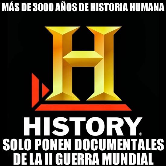 Meme_otros - History Channel y su obsesión por cierto tipo de documentales