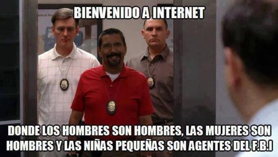 Meme_otros - ¡Bienvenido a Internet!