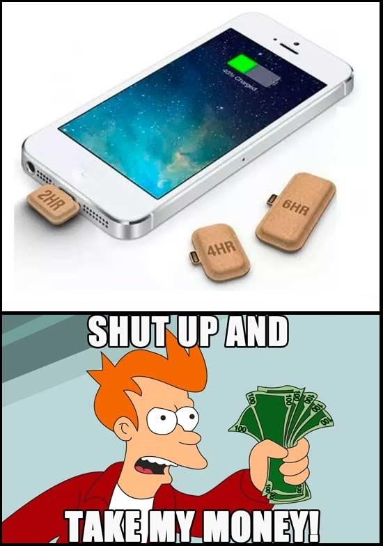 Fry - Con estas mini-baterías para el móvil se acabó el quedarte seco en el peor momento