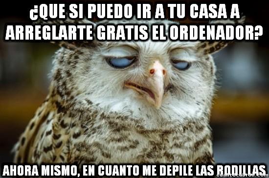 Meme_otros - Por supueeeesto... que no